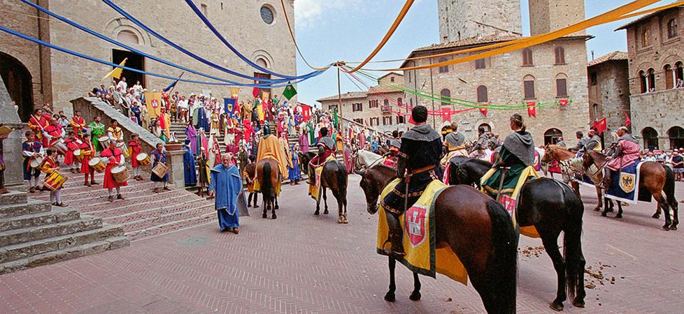 Medioevo e San Gimignano
