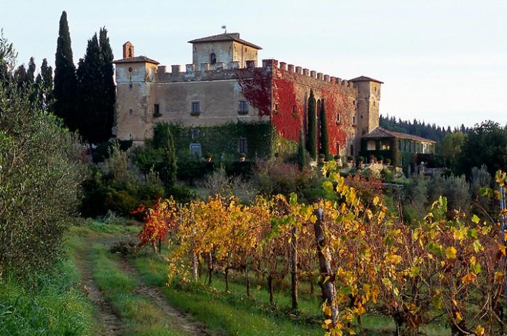 Castle in the Chianti Area