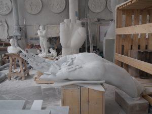 Carrara marble atelier