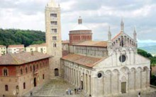 Massa Marittima medieval cathedral