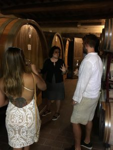 Taste of wines designated to become Brunello