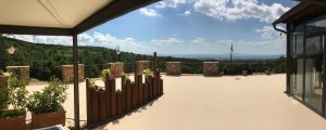 Brunello landscape from a winery terrace
